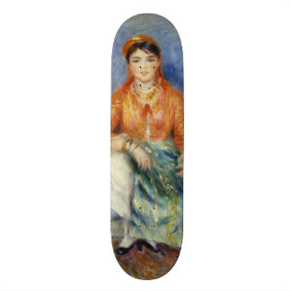 Algerian Girl by Pierre-Auguste Renoir Skateboard Deck