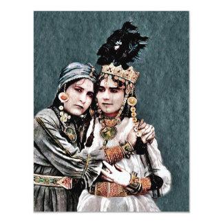 Algerian Gypsy Girls Card