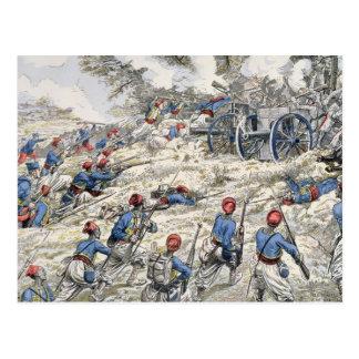 Algerian riflemen of the French army Postcard