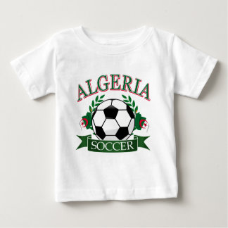 Algerian Soccer Designs Baby T-Shirt