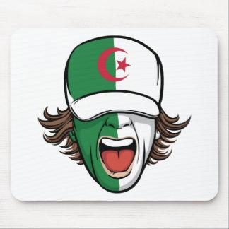 Algerian Sports Fan Mouse Pad