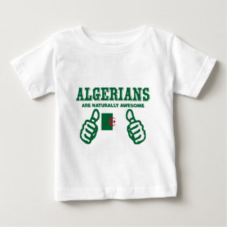 Algerians are naturally awesome baby T-Shirt