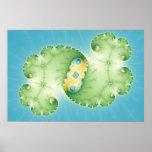 Alges - Fractal Poster