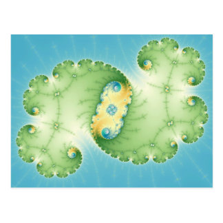 Alges - postal del fractal