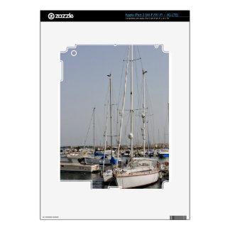 Alghero Sardinia Sailboats Decal For iPad 3