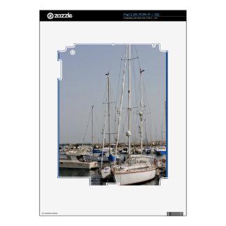 Alghero Sardinia Sailboats iPad 2 Skin