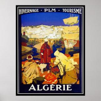 Algiers Vintage Print Print