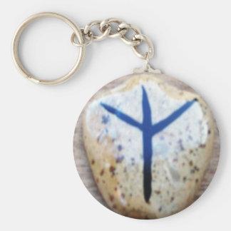 Algiz Keychain