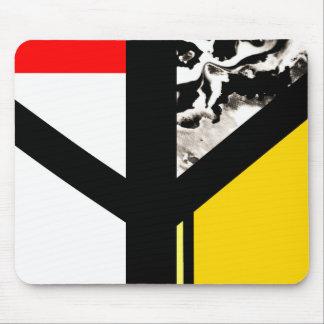 Algiz Modern Abstract Minimalist Rune Mouse Pad