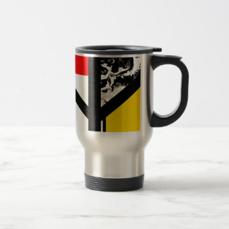 Algiz Modern Abstract Minimalist Rune 15 Oz Stainless Steel Travel Mug