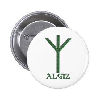 Algiz Pinback Button