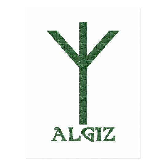 Algiz Postcard