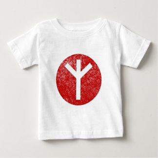 Algiz Rune Baby T-Shirt