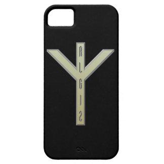 Algiz Rune gold iPhone SE/5/5s Case