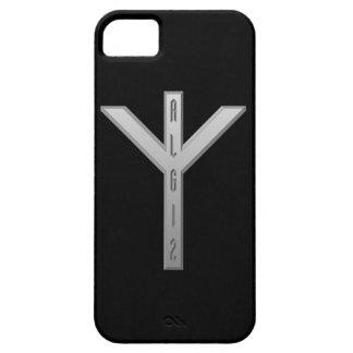 Algiz Rune grey iPhone SE/5/5s Case