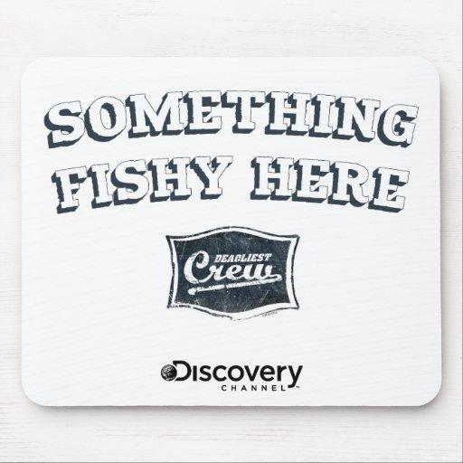 Algo aquí Mousepad a pescado