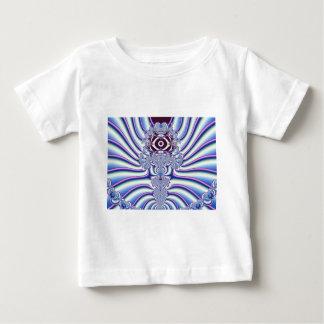 Algo arte extraño del fractal playera para bebé