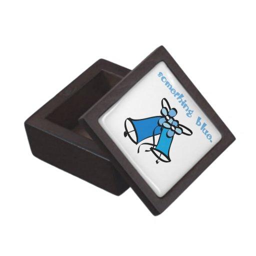 Algo azul cajas de joyas de calidad