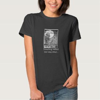 Algo camiseta traviesa de la bruja polera