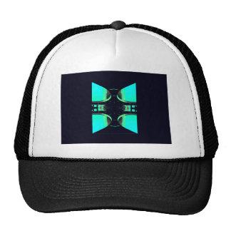Algo diferente - futurismo urbano moderno gorras