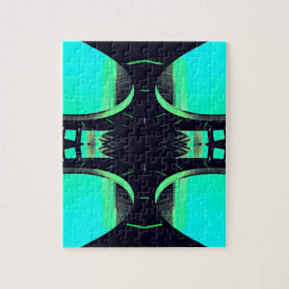 Algo diferente - futurismo urbano moderno puzzle con fotos