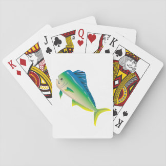 Algo es naipes a pescado barajas de cartas