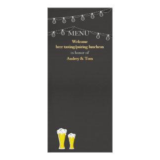 """Algo está elaborando cerveza tarjetas del estante folleto publicitario 4"""" x 9"""""""