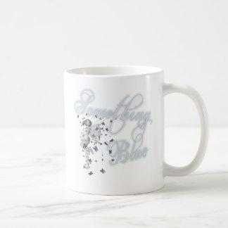 Algo hada azul de la mariposa - original taza