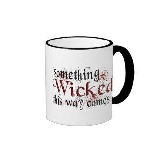 Algo travieso tazas de café