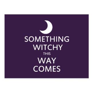 Algo Witchy esta manera viene Tarjetas Postales