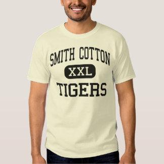 Algodón de Smith - tigres - alto - Sedalia Missour Playera