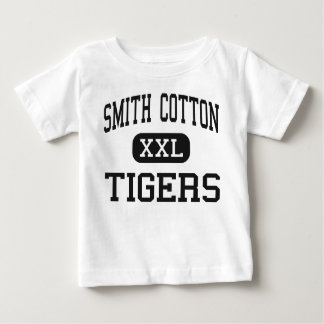 Algodón de Smith - tigres - alto - Sedalia Playera