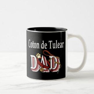 Algodón De Tulear Mug Taza De Dos Tonos