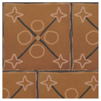 Algodón geométrico de los modelos de Brown Telas