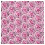 Algodón subió rosa color de rosa de la tela de la telas