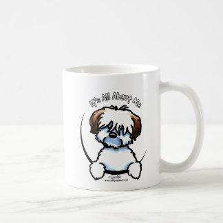 Algodón tricolor su todo alrededor yo taza de café