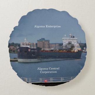 Algoma Enterprise round pillow