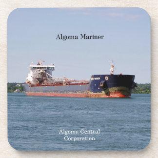 Algoma Mariner set of 6 plastic coasters