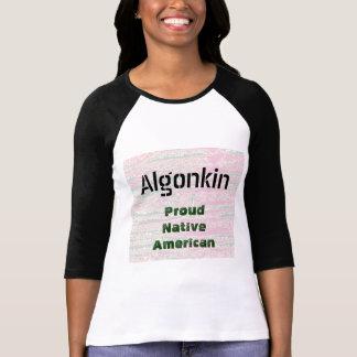 ALGONKIN : Proud Native Americans Tee Shirt