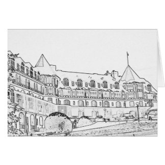 Algonquin Hotel Card