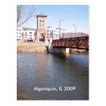 Algonquin Illinois Postcard