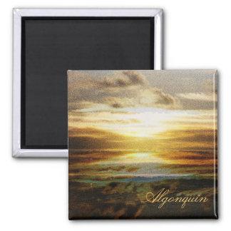 Algonquin park sunset magnet