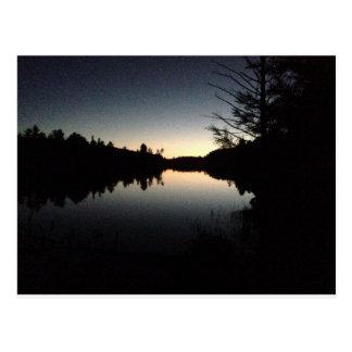 Algonquin Provincial Park at night Postcard