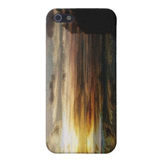 Algonquin sunset i-phone case