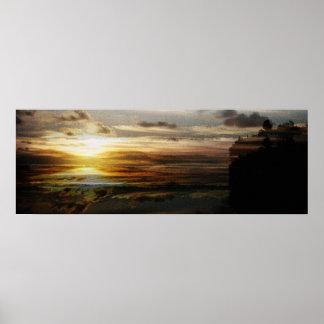 Algonquin sunset print