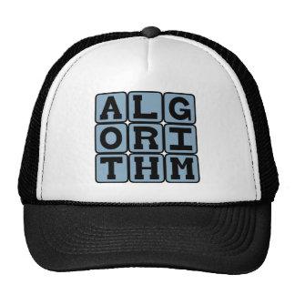 Algorithm, Procedure for Calculations Trucker Hat