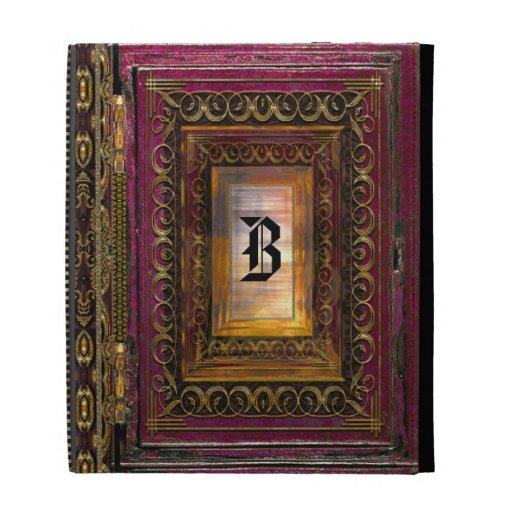 Algortex Thunder Old Book Style Fantasy iPad Cases