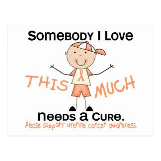Alguien amor de I - cáncer uterino (muchacho) Postales