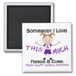 Alguien amor de I - epilepsia (chica) Imán Cuadrado