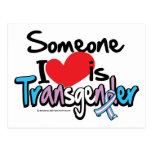 Alguien amor de I es transexual Postal